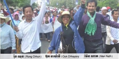 Rong Chhun - Ouk Chhayavy - Men Nath